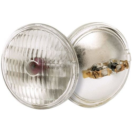 Satco 4044 Sealed Beams Sealed Beam Lamps, 12W MP2 PAR36, Bulb [Pack of 6] by SATCO
