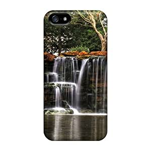 For Iphone 5/5S Fashion Design Waterfall Through Rock Plates Hdr Case-qTF44DNnU