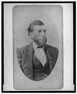 Historic Print (L): [Gen. Cowan, Assistant Secretary, Interior Department, head-and-shoulders portrait, faci