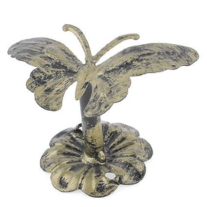 Amazon.com: eDealMax Gancho diseño de la Mariposa de la ...
