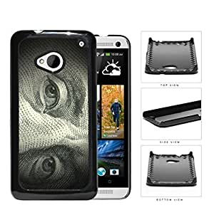 Benjamin Franklin 100 Dollar Bill Hard Plastic Snap On Cell Phone Case HTC One M7 by icecream design