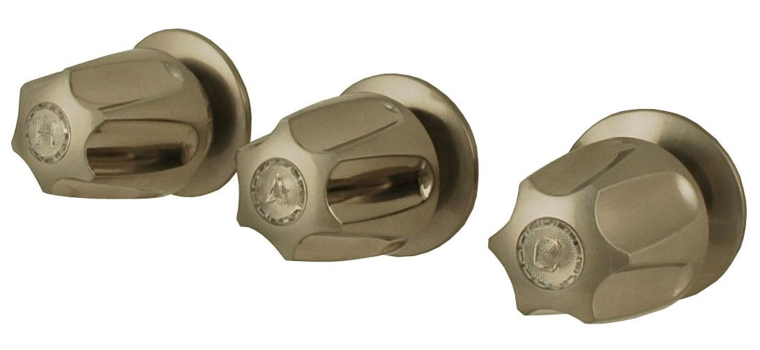 Handle and Valve Trim Kit for Price Pfister, Brushed Nickel - By Plumb USA by PlumbUSA
