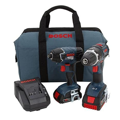 Amazon.com: Bosch clpk243 – 181 18-volt iones de litio 2 ...