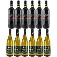 Ariel Non-alcoholic Wine Cabernet Sauvignon + White Chardonnay | Total 12 Bottles