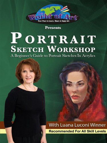 Portrait Sketch Workshop: A Beginner's Guide to Portrait Sketches In Acrylics