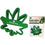 Stonerware Brand Pot Leaf Cookie Cutter :: Makes Pot leaf Cookies