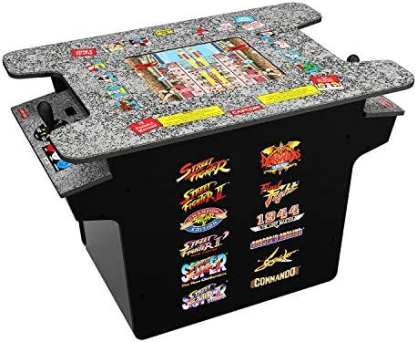 Amazon Com Arcade 1up New Deluxe 12 In 1 Head To Head Cocktail
