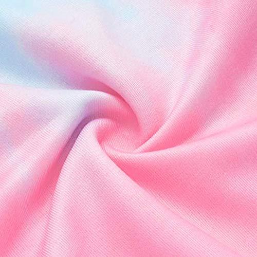 Longues Manches Pull Imprimé Chemisier Sweatshirt Tops Femme Capuche Blouse Patchwork Beikoard pour Sweat Rose Pullover à SzvcqwFCxU