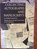 Collecting Autographs and Manuscripts, Charles Hamilton, 0806111569