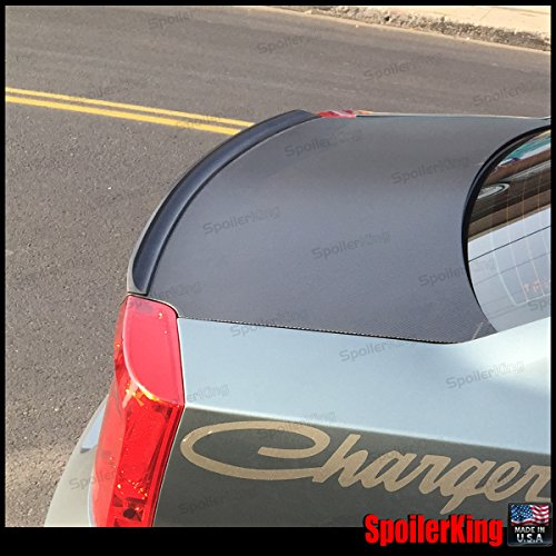 - Spoiler King Trunk Lip Spoiler (244L) compatible with Dodge Charger 2005-2010
