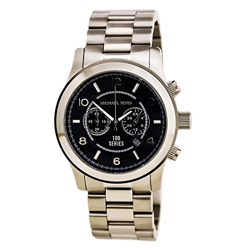 Michael Kors MK8314 Men's Hunger Stop 100 Series Navy Blue Dial Chrono Oversized Watch