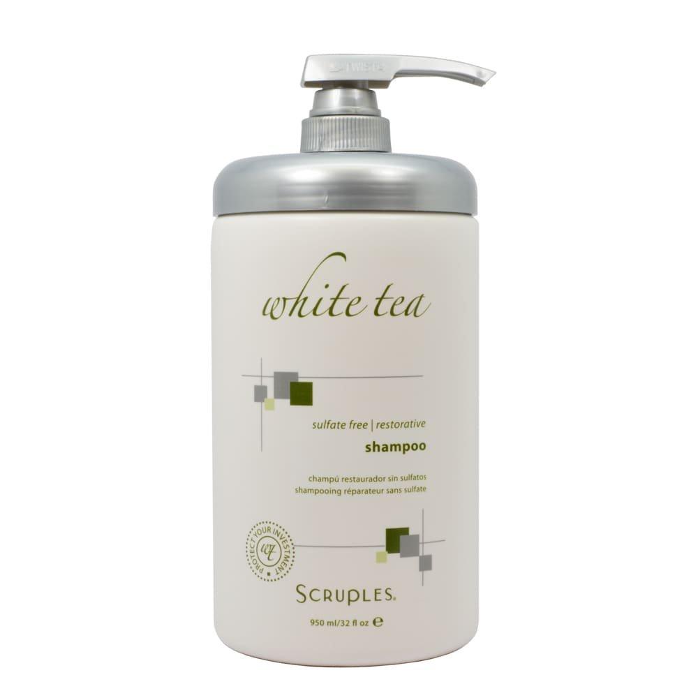Scruples White Tea Sulfate Free Restorative Shampoo 950 ml / 32 oz
