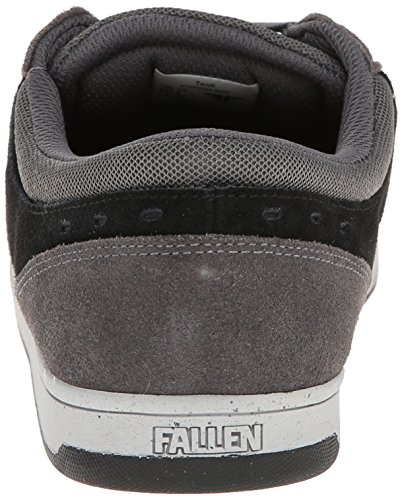FALLEN TORCH ASH GRAY/FLAT BLACK HARDY Signature Skate Shoes
