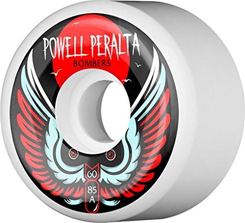 - Powell Peralta Bomber III Natural Skateboard Wheels - 60mm 85a (Set of 4)