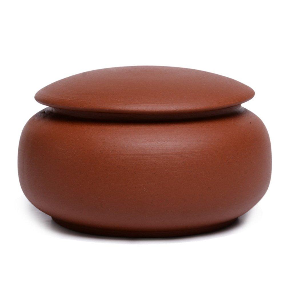 Recipiente de cerámica,Tarro de té,Caja de té,Latas de caramelo Tetera de cerámica-D 5x9cm(2x4inch)