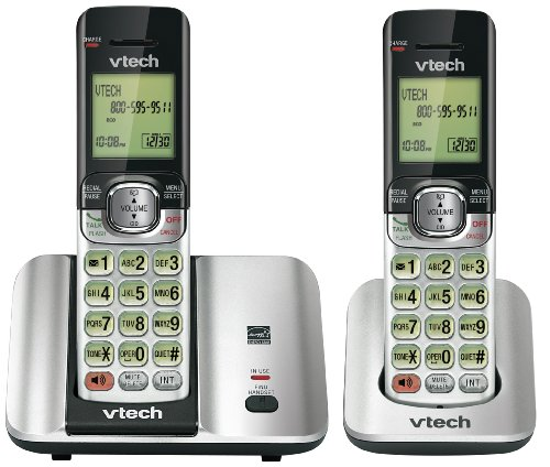 CS6519-2 Two Handset Cordless Phone with Caller ID/Call Waiting