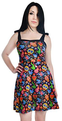 Too Fast - Vestido - Sin mangas - para mujer Multicolor