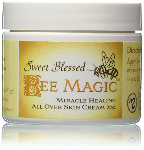 Medicine Mama s Apothecary Sweet Blessed Bee Magic Skin Cream, 2 Count 4 Ounces Total