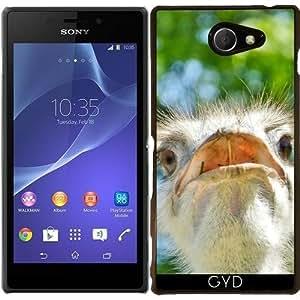 Funda para Sony Xperia M2 - Divertida De Avestruz Africano by Djuranne