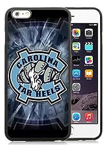 North Carolina Tar Heels Black Fashion Customize Design iPhone 6plus 5.5 Inch TPU Phone Case