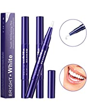 Mokylor 3 PCS Teeth Whitening Pen, Teeth Gel Pens Easy to Use Remove Stain Teeth Bleaching Pen,Effective and Painless