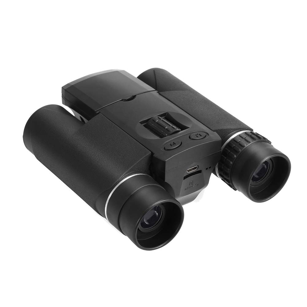 安価 双眼鏡デジタルカメラ1.5インチ液晶モニター1.3メガピクセルズーム10×25双眼鏡望遠レンズ用フットボール試合コンサート(ブラック)   B07QDSVNJT, 山本無線CQ:00749191 --- agiven.com