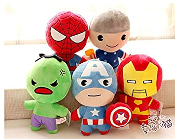 Amazon.com: Lindo peluche de felpa Marvel Los Vengadores ...