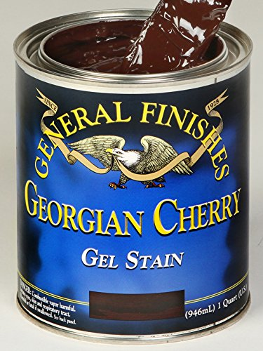Cherry Paint - General Finishes Georgian Cherry Gel Stain Pint