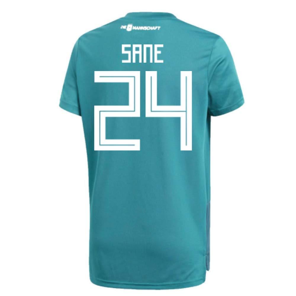 2018-19 Germany Away Training Football Soccer T-Shirt Trikot (Leroy Sane 24)