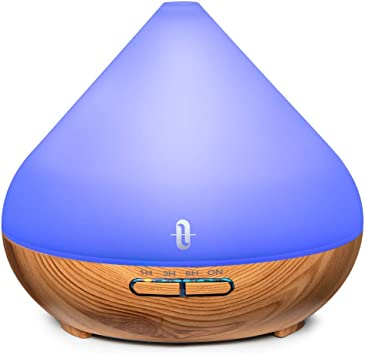 TaoTronics Luftbefeuchter Ultraschall Schlafzimmer Kinderzimmer Air Humidifier f/ür Wohnzimmer und B/üro