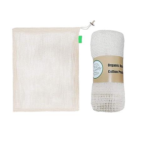 Floridivy 3pcs / Set 3 Superficie de algodón Reutilizable ...