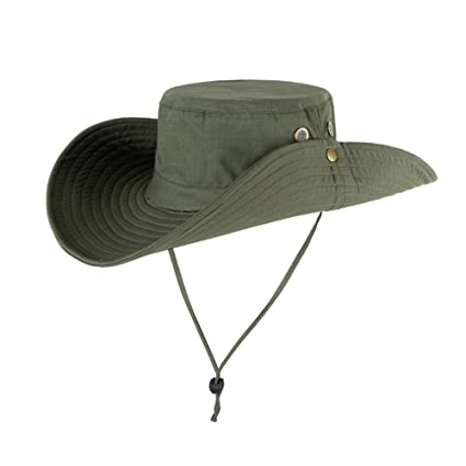 2b46e15e Mcolics Outdoors Large Brimmed Summer Fishing Hats SUN UV Protection Quick  Drying Bucket Hat Bonnie Cap