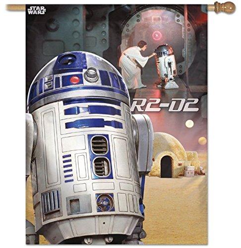 WinCraft Star Wars Star Wars Star Wars Original Trilogy 28'' X 40'' Vertical Flag, Multicolor by WinCraft