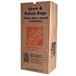 The Home Depot 30 Gal. Paper Lawn and Refuse Bags (25-count)