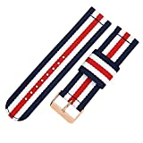 Top Grade Nylon Watch Straps Bands Nato style 20mm Replacements for Men Colorful Military Casual Durable