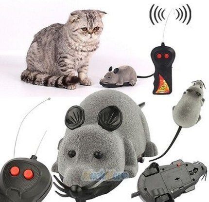 BEST PRICE Funny Electronic Mouse Toy With Remote Control