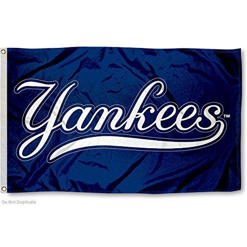 Free New York NY Yankees Flag 3x5 MLB Banner