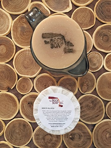 King's Blood Beer Soap Made with Ommegang Valar Morghulis Dubbel Ale ()