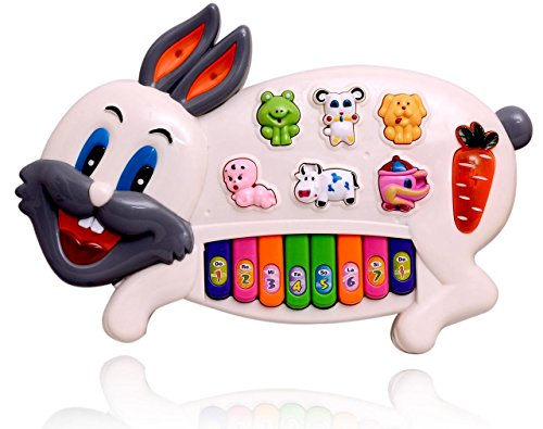 Planet of Toys Rabbit Music Piano Educational Toy