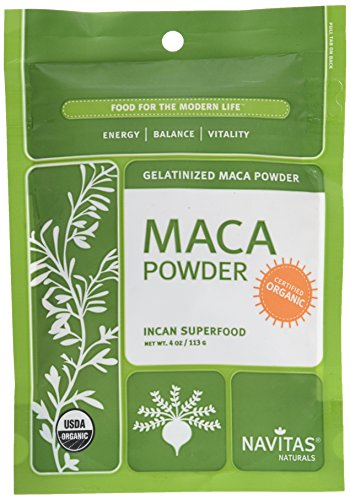 Navitas Organics Maca Gelatinized Powder, 4 Ounce