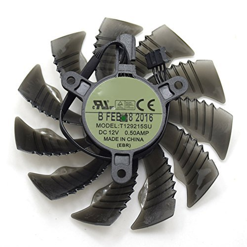 inRobert 88mm T129215SU Graphics Card Cooling Fan For