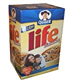 quaker oatmeal container - Quaker Life Cinnamon Cereal 62 Ounce Value Box