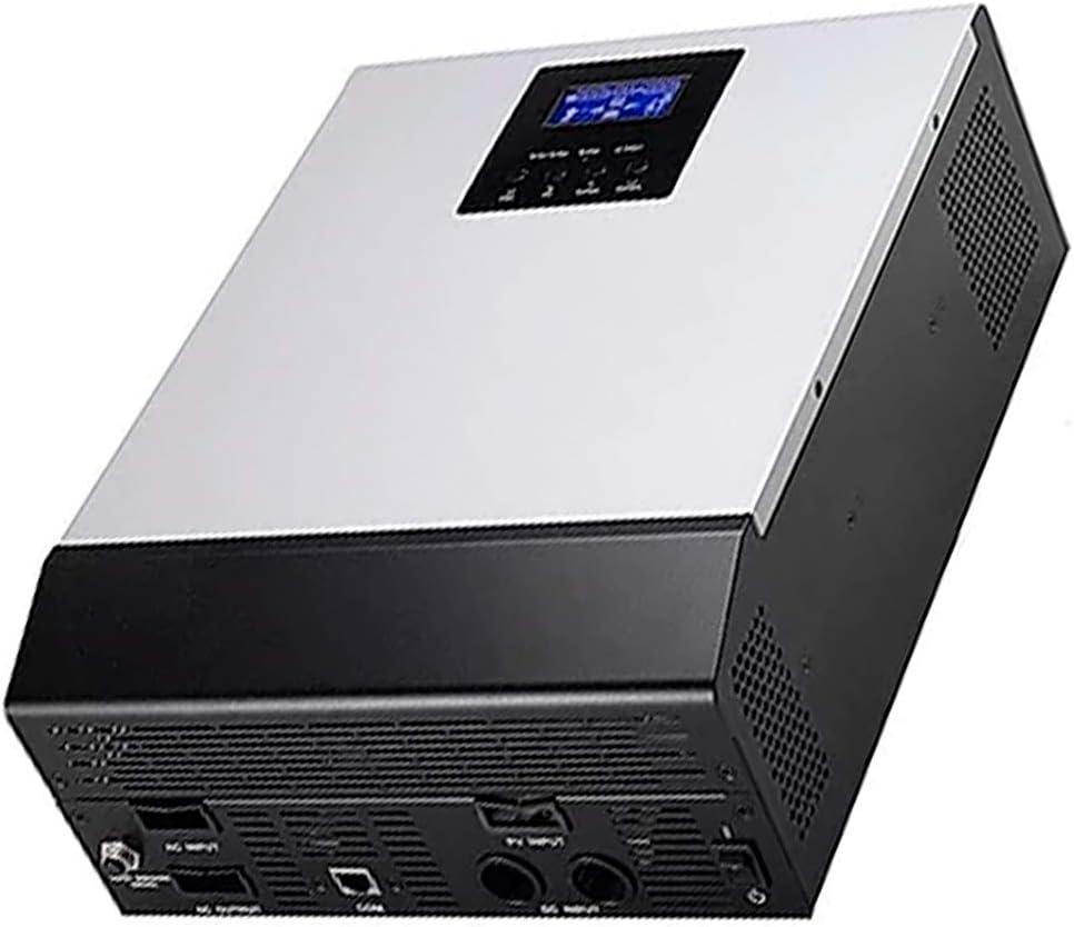 WccSolar Inversor Solar Onda Pura Hibrido PlusEnergy 1KVA-PK 1Kva 12V + Regulador Solar 50A + CargadorBaterías 20A