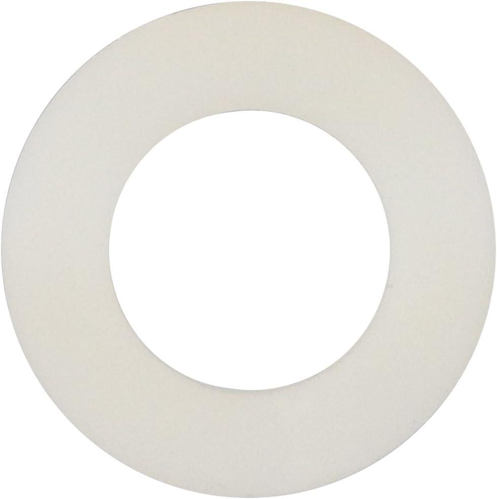 Unterlegscheiben Nylon Beilagscheiben U-Scheiben M2 bis M20 Weiß Isolierung 120℃