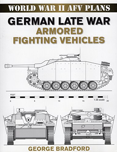 German Late War Armored Fighting Vehicles: World War II AFV Plans