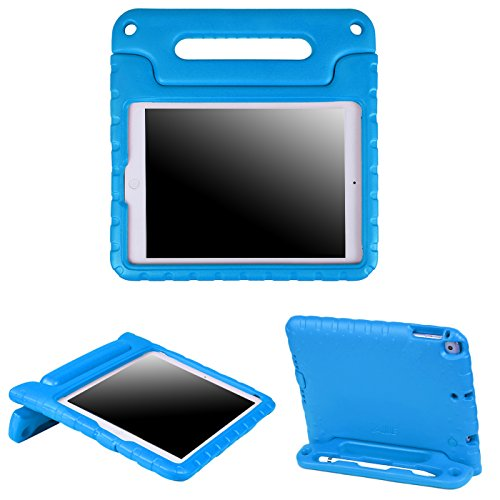 HDE Case for iPad 9.7 inch 2018 / 2017 Kids Shock Proof Bump