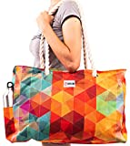 Beach Bag and Pool Bag XL - L22xH15xW6 - Zippered