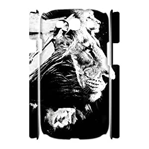 3D to the Lions Samsung Galaxy S3 Cases, Vety {White}