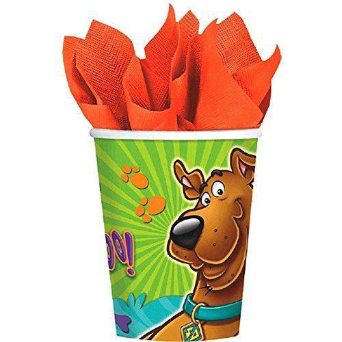 Scooby-Doo 9 oz. Cups [8 Per Pack] (Scooby Doo Birthday Invitation)
