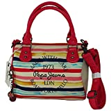 Pepe Jeans Hallia Road Portobello Shoulder Bag Handbag Women